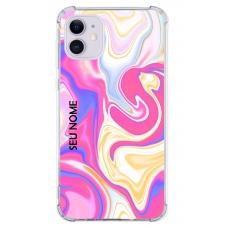 Capinha para celular - Colors 46 - Personalizada com nome